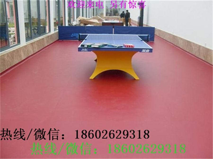 乒乓球室PVC地胶