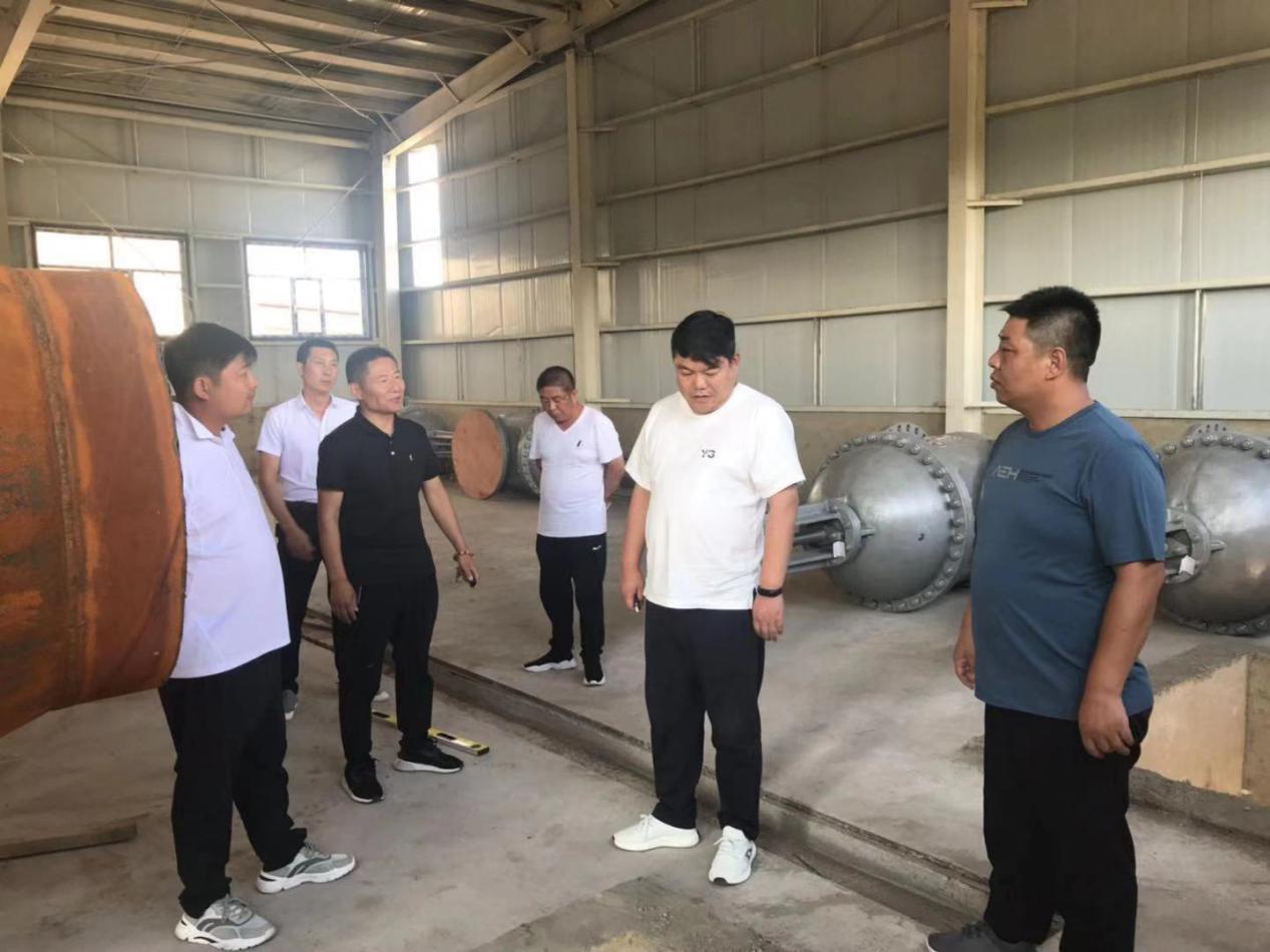 杜鑫总裁一行深入太旗区域PPP项...