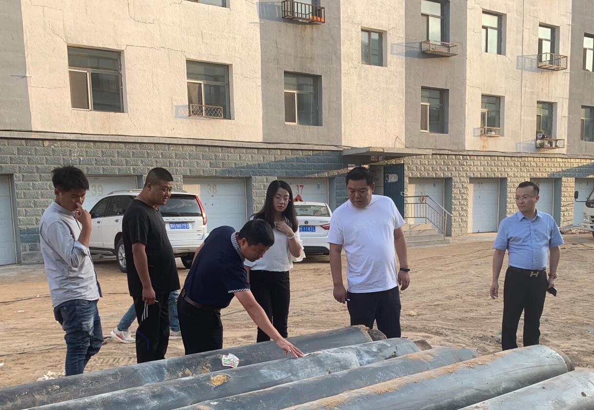 杜鑫总裁一行在东苏区域公司考察...