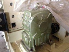 天津减速机厂家WP蜗轮蜗杆减速机厂家安装案例