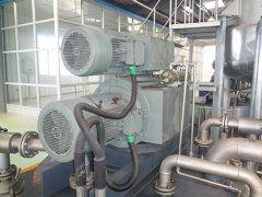 天津减速机厂家斜齿轮减速机电机安装案