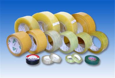 透明、黄胶带