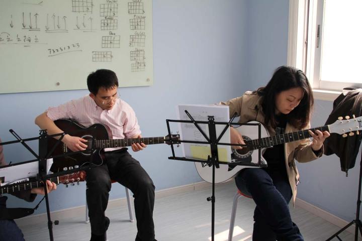 吉他培训学员风采