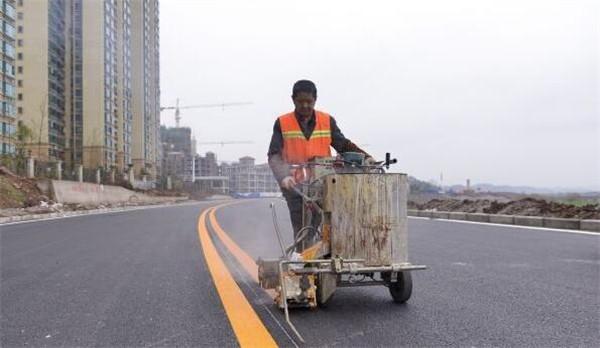 天津马路划线标准