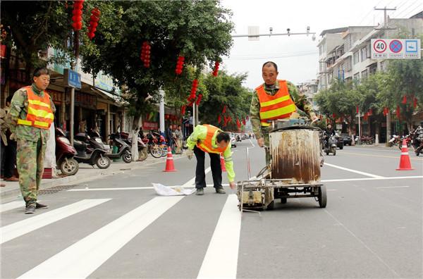 天津马路划线施工
