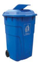 塑料垃圾箱-12