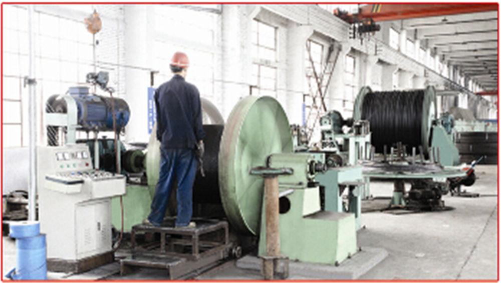 基坑用钢绞线生产及检验设备