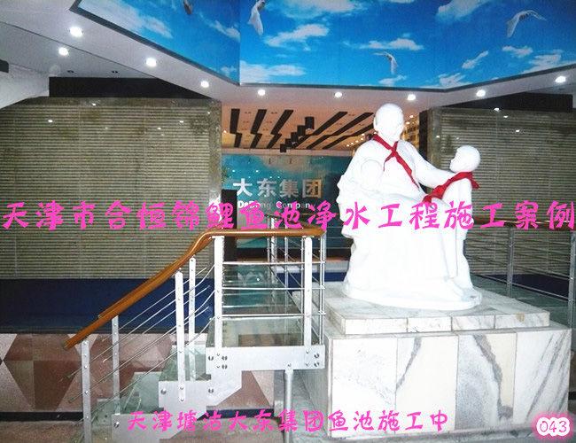 錦鯉魚池施工-開發區大東集團