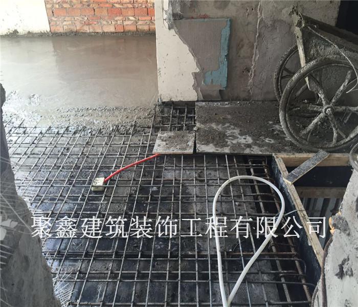 别墅改造施工过程