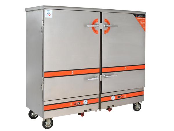 電熱24盆蒸飯柜