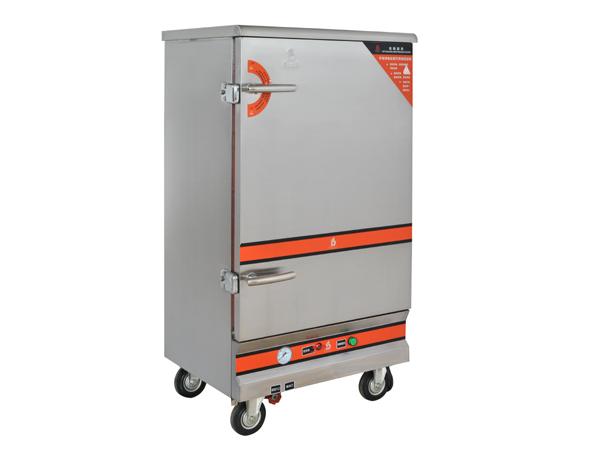 电热10盆蒸饭柜