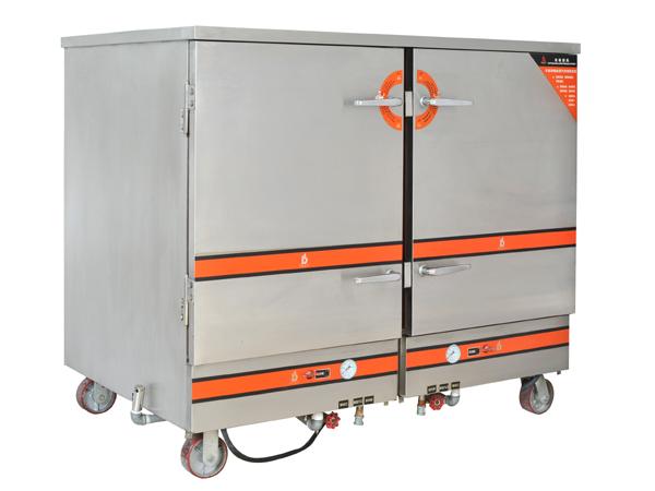 电热48盆蒸饭柜
