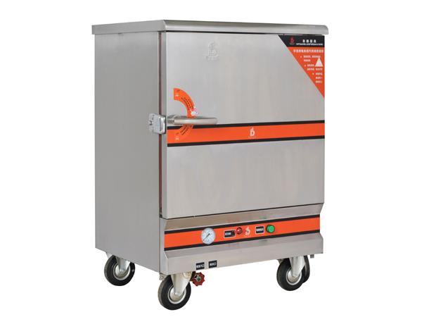 电热6盆蒸饭柜