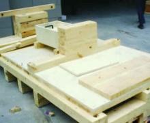 消毒木箱保证产品运输的安全