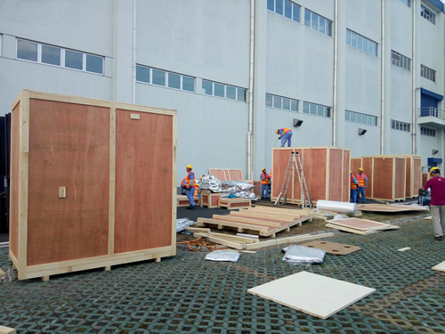 重型木包装箱