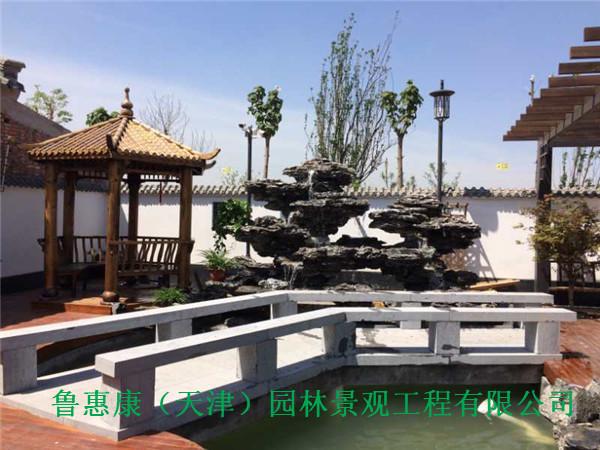 庭院景观设计-西青庄园