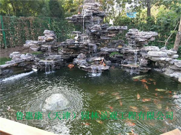 锦鲤鱼池过滤案例