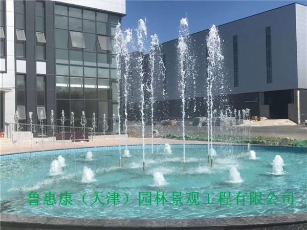 水幕噴泉案例