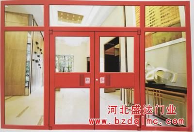 肯德基地轴门喷涂(中国红)