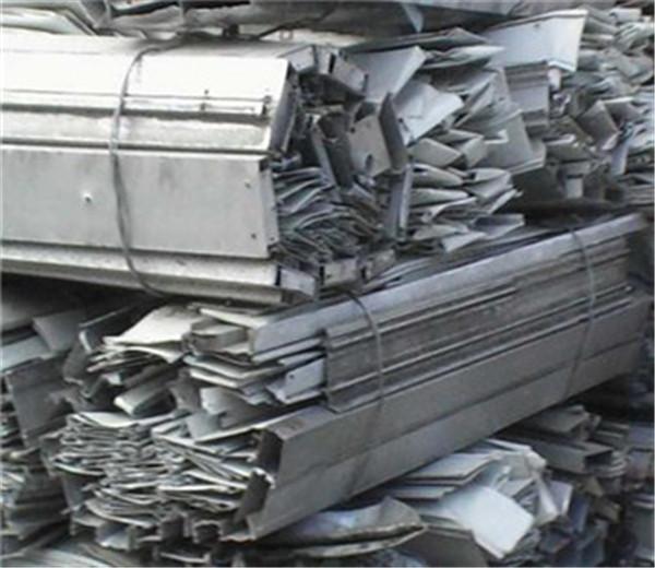 打包好的回收废铝