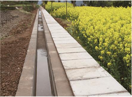 装配式砼节水灌溉渠道工程实例