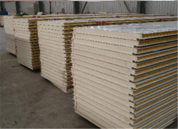 彩钢岩棉复合板加工