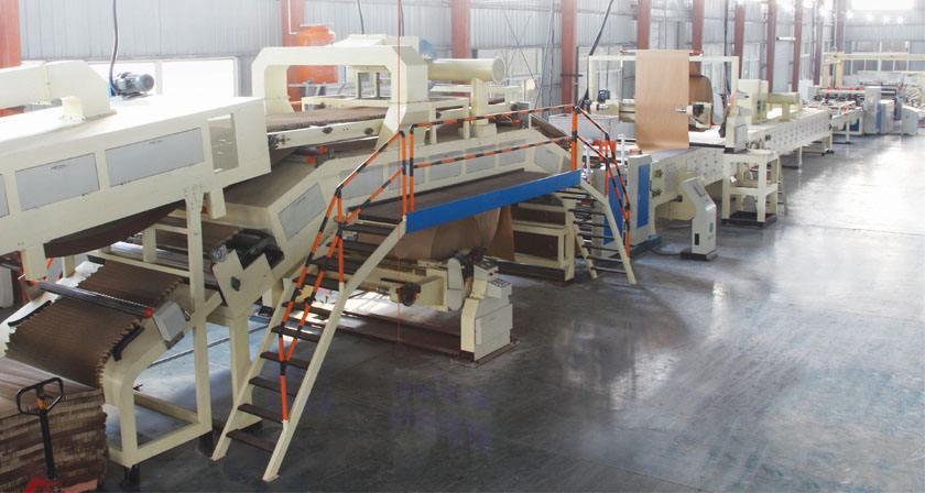 蜂窝纸板生产线